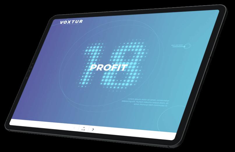Profit 18 magazine Voxtur