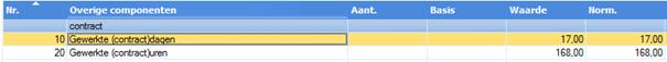 AFAS OSV - Bruto/netto berekening